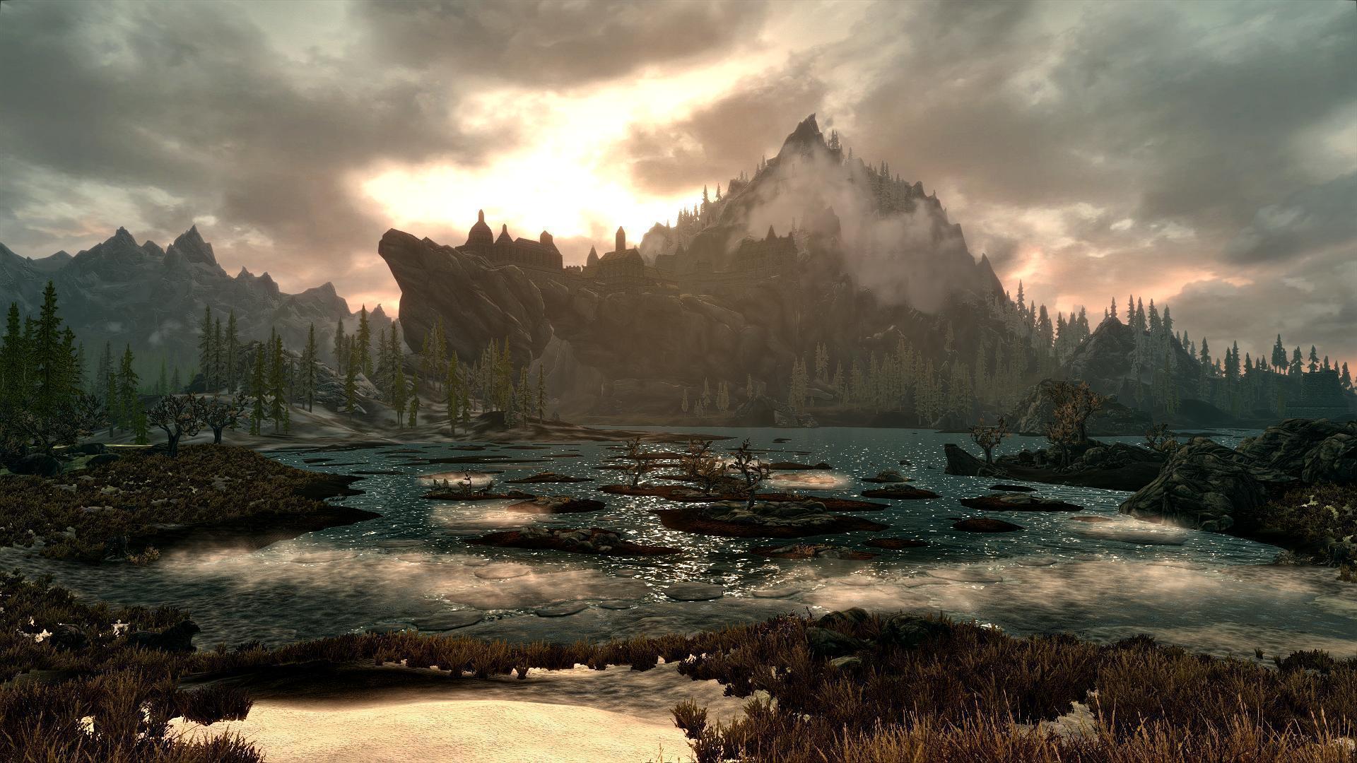 dragon landscape scenic wallpaper - photo #7