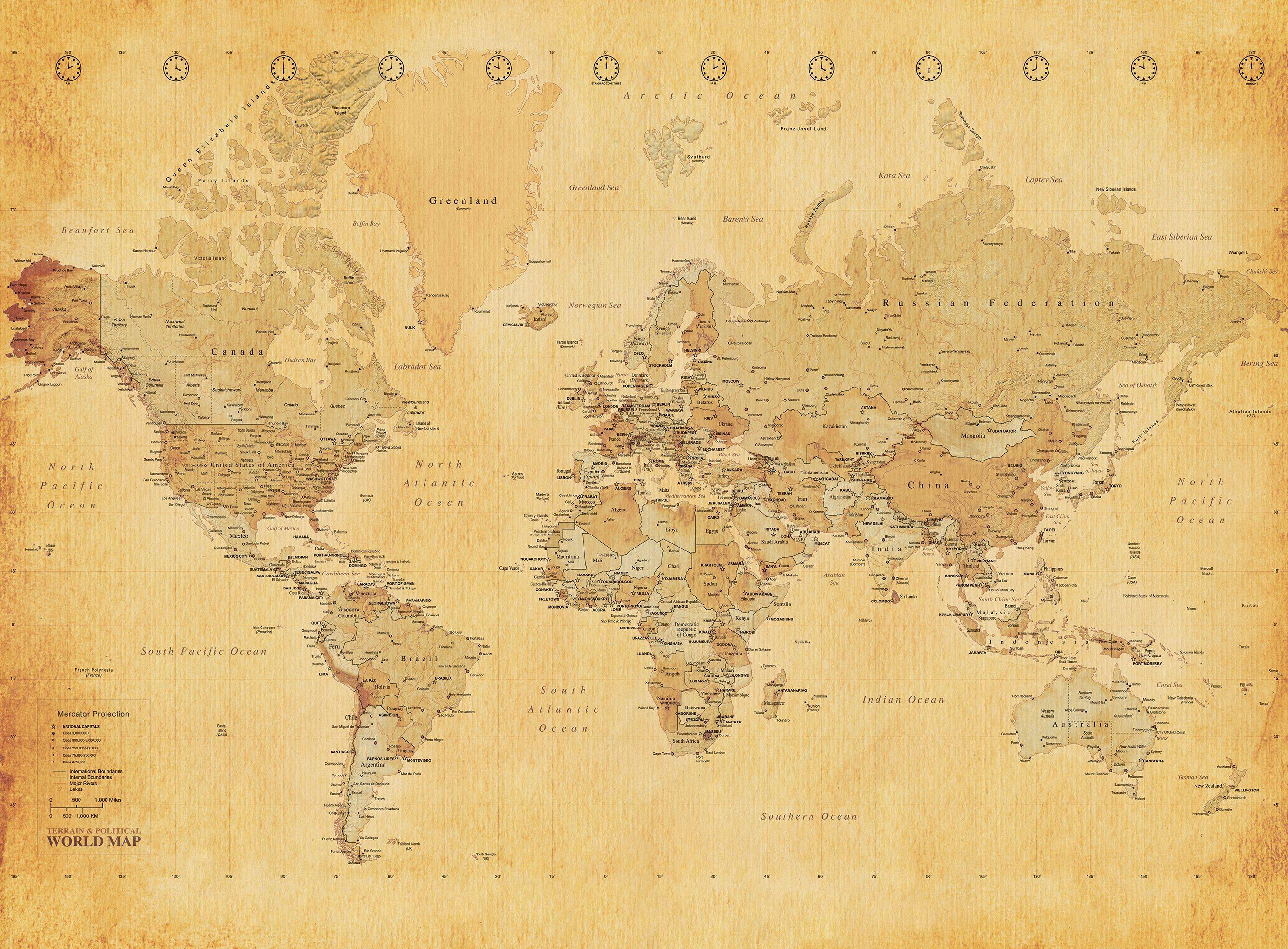 World Map Wall Paper vintage map wallpapers - wallpaper cave