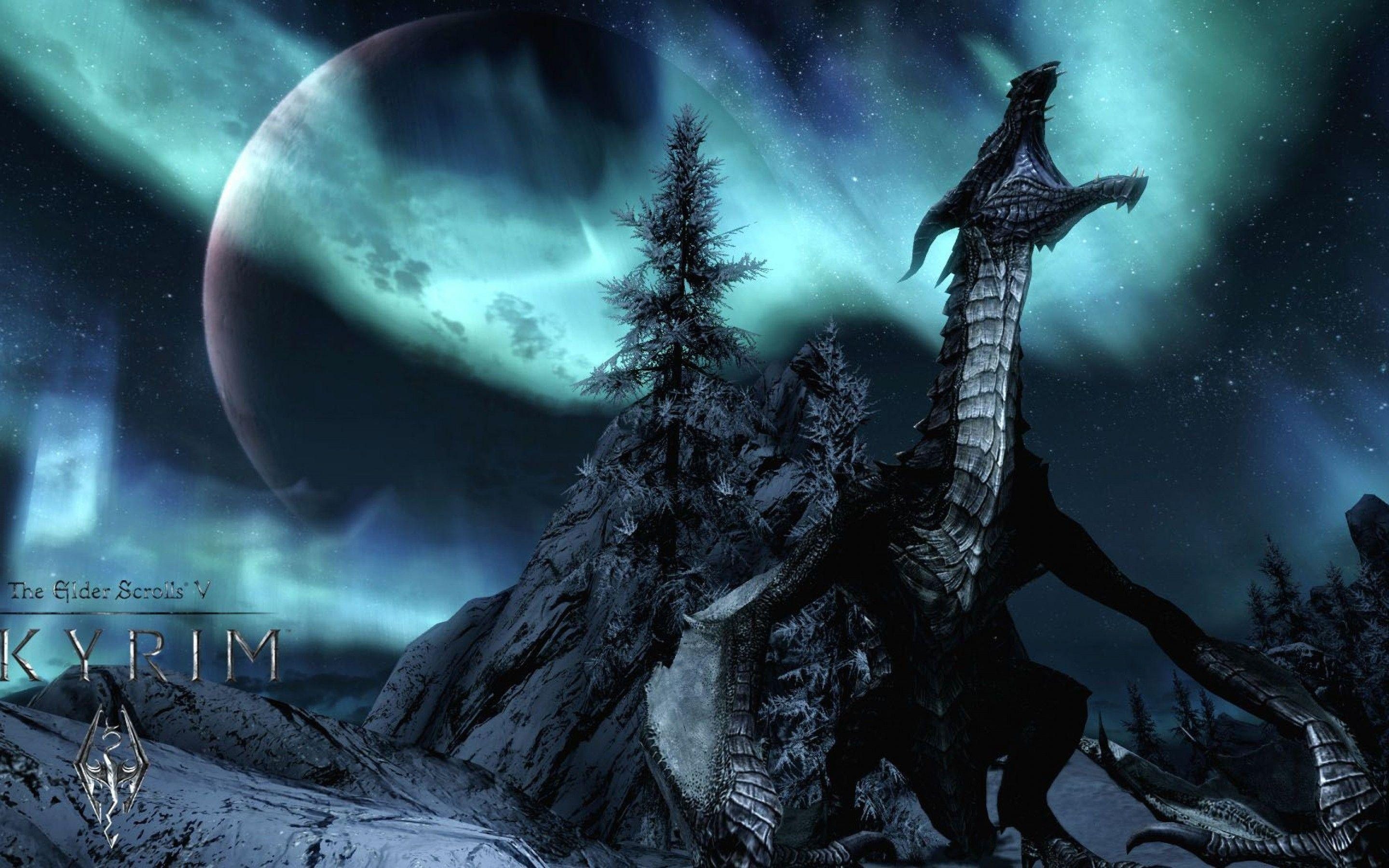 skyrim hd wallpapers 1366x768 - photo #11