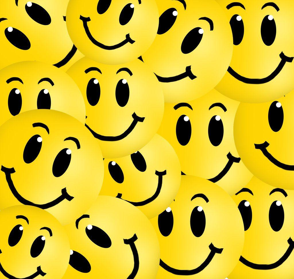Wallpapers For > Colorful Smiley Face Backgrounds