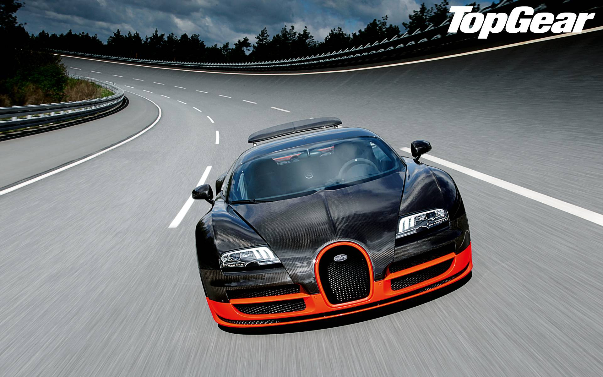 Wallpaper Bugatti Veyron Super Sport