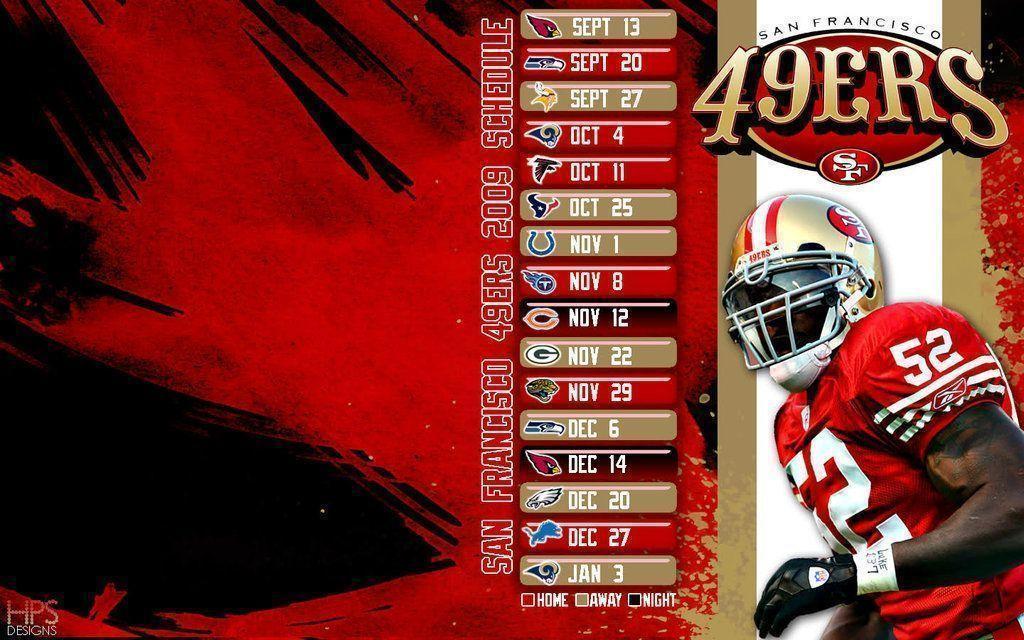 49ers 2015 schedule wallpapers wallpaper cave - 2015 49ers schedule wallpaper ...