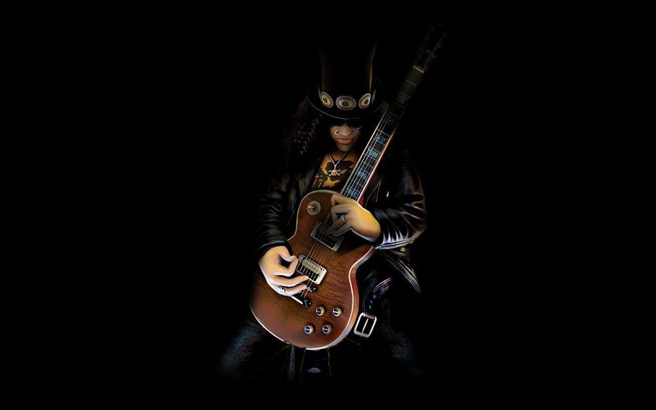 Slash Guitar Wallpapers - Wallpaper Cave