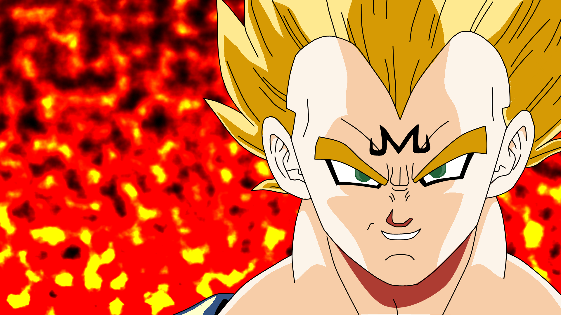 Majin Vegeta WallPaper 1080P HD By MasSergio On DeviantArt