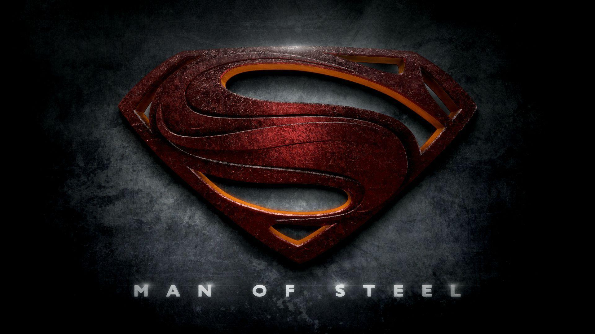 hd wallpaper superman man of steel logo - Best ...