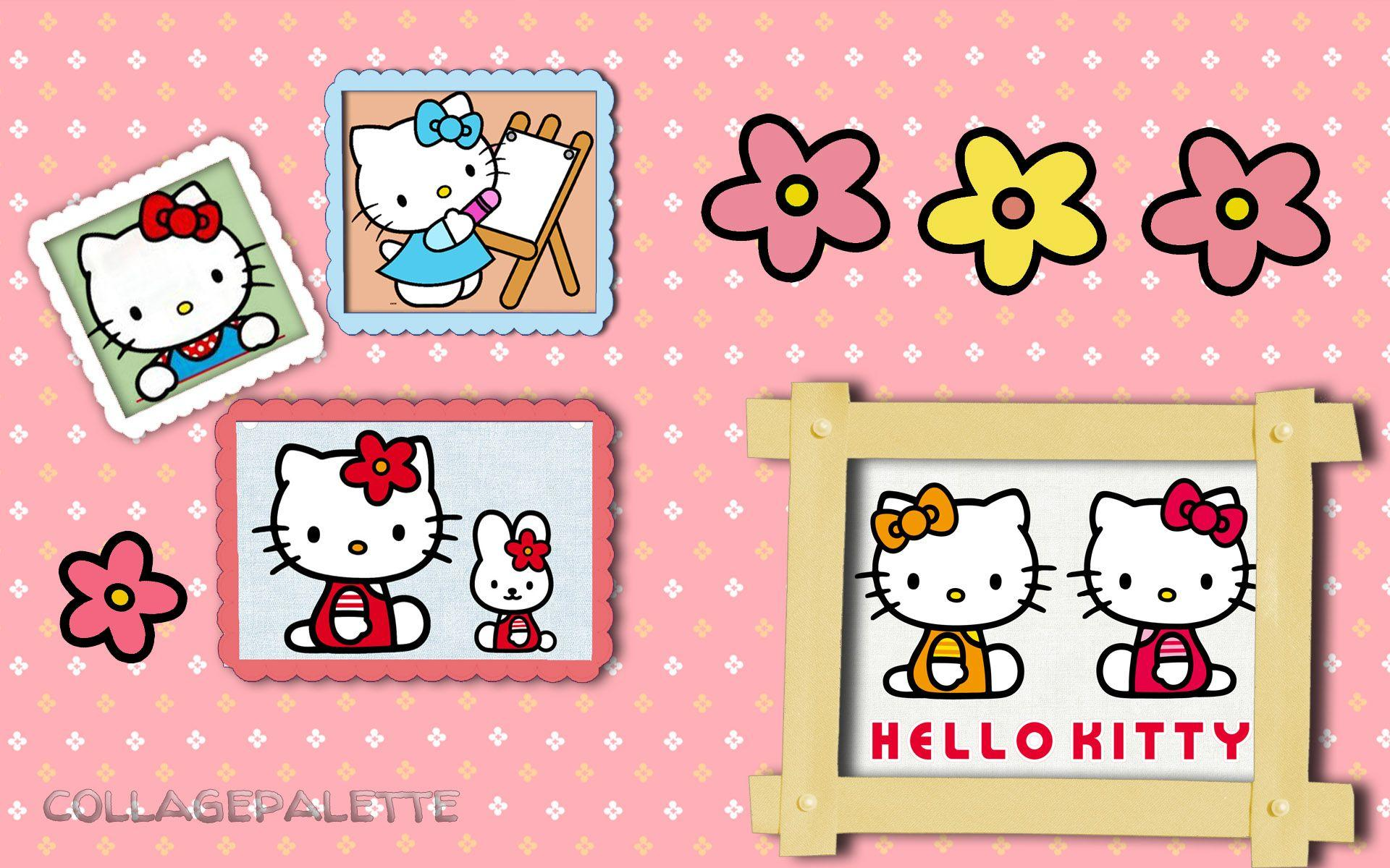 hello kitty birthday wallpapers wallpaper cave