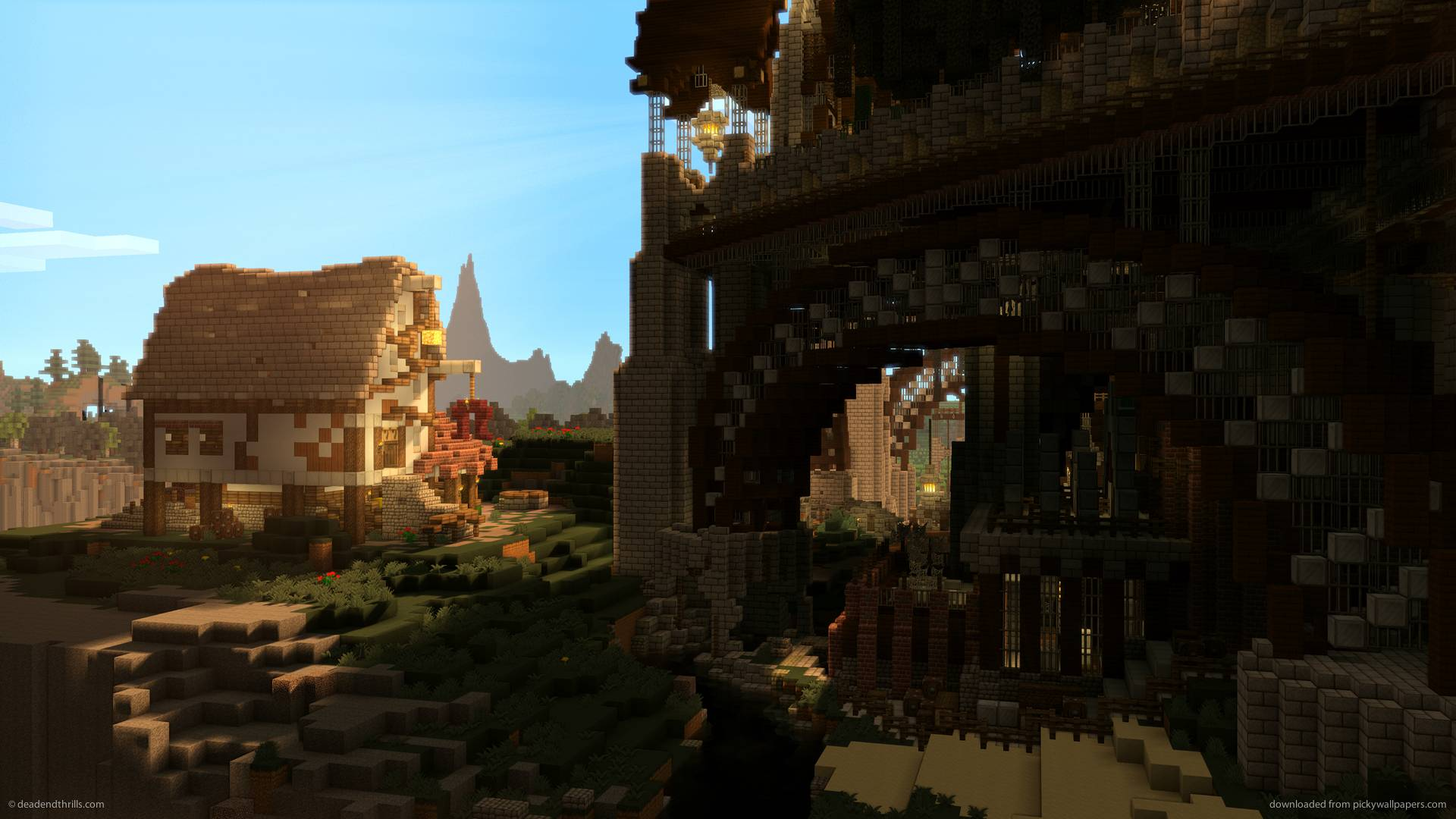 Download 1920x1080 Minecraft Cast No Shadow Wallpapers