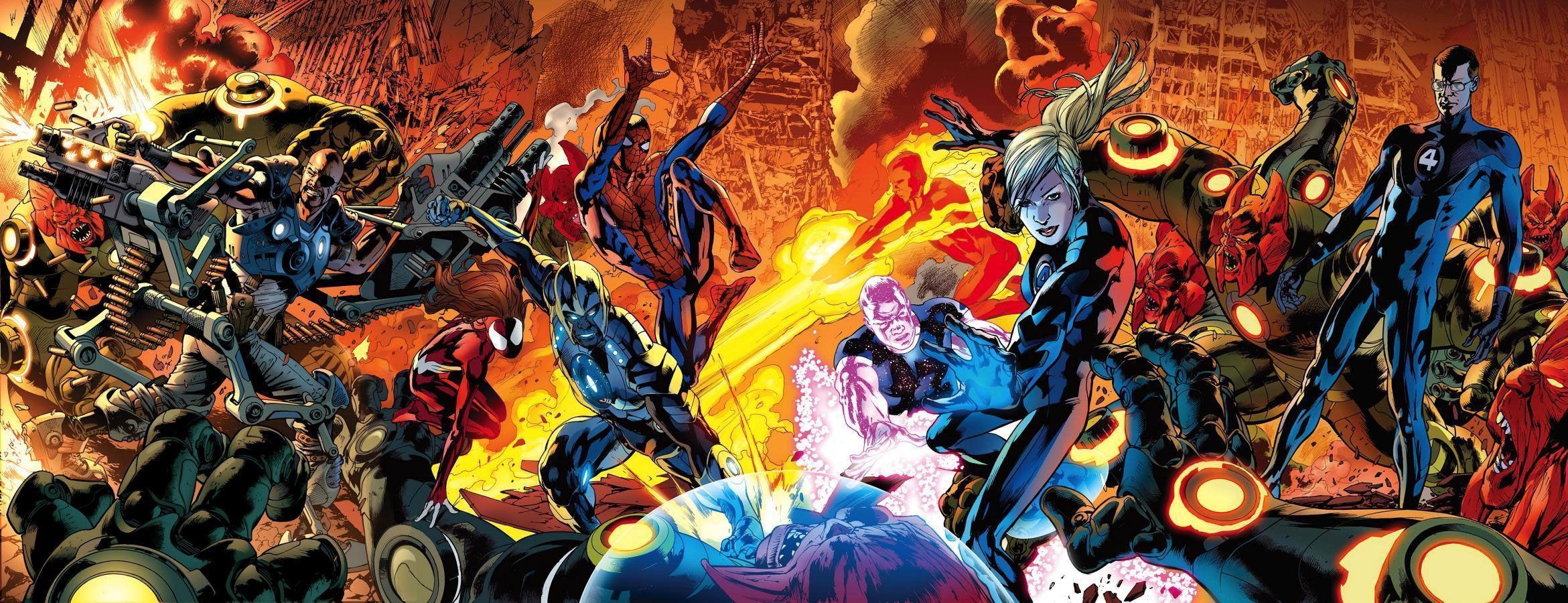 Best 49 The Avengers Wallpaper On Hipwallpaper: Fantastic Four Wallpapers