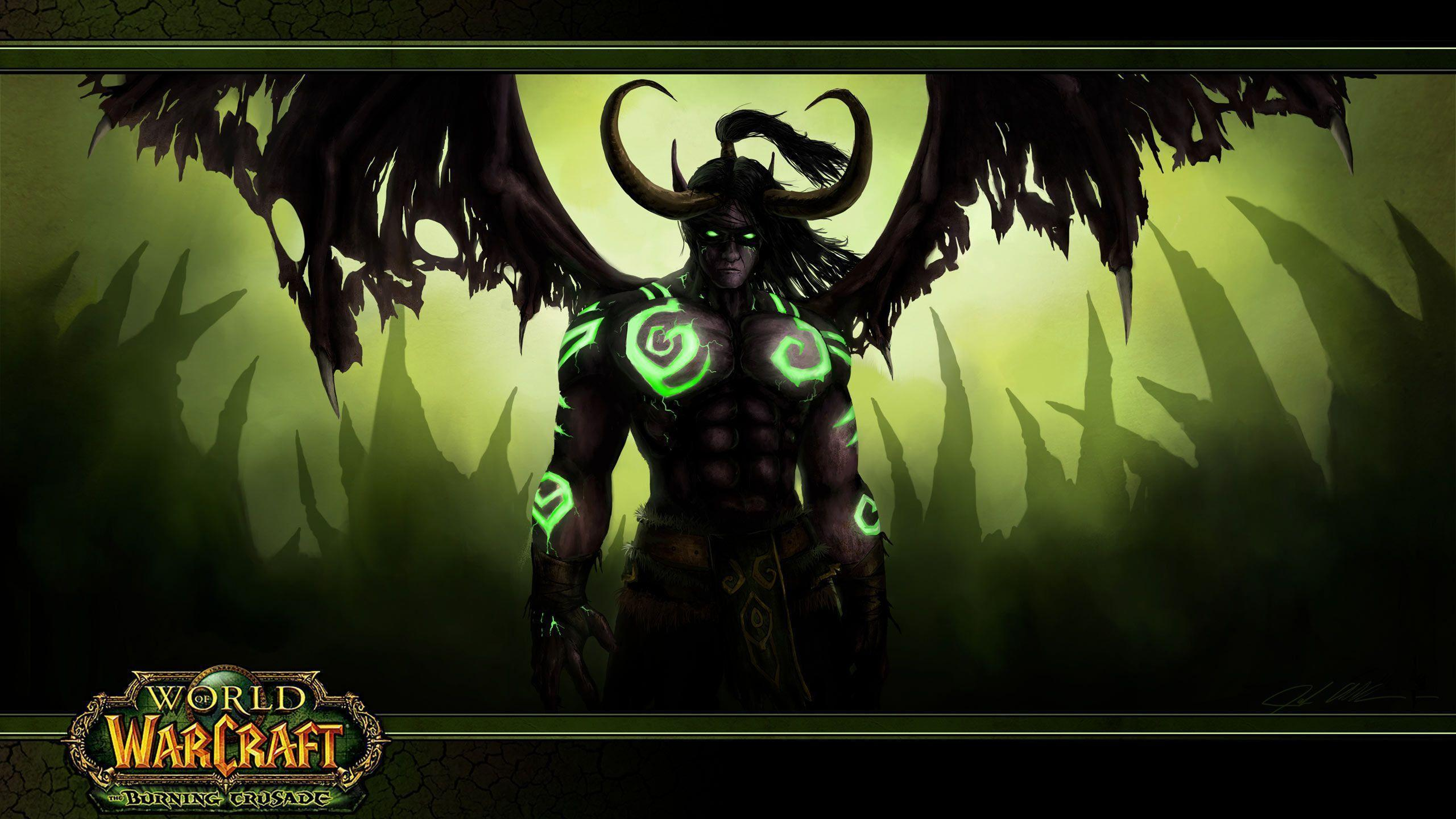 Illidan Wallpaper HD - WallpaperSafari