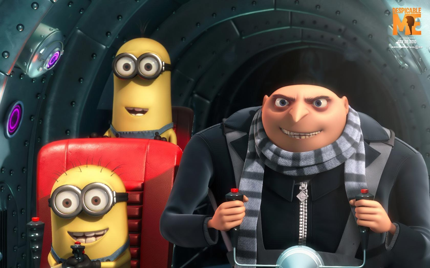 Desktop Wallpapers · Gallery · Cartoons · Despicable Me 3D animated
