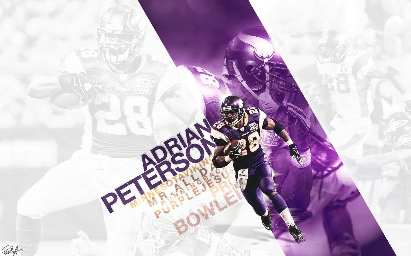 Free Wallpapers - Adrian Peterson - Minnesota Vikings wallpaper