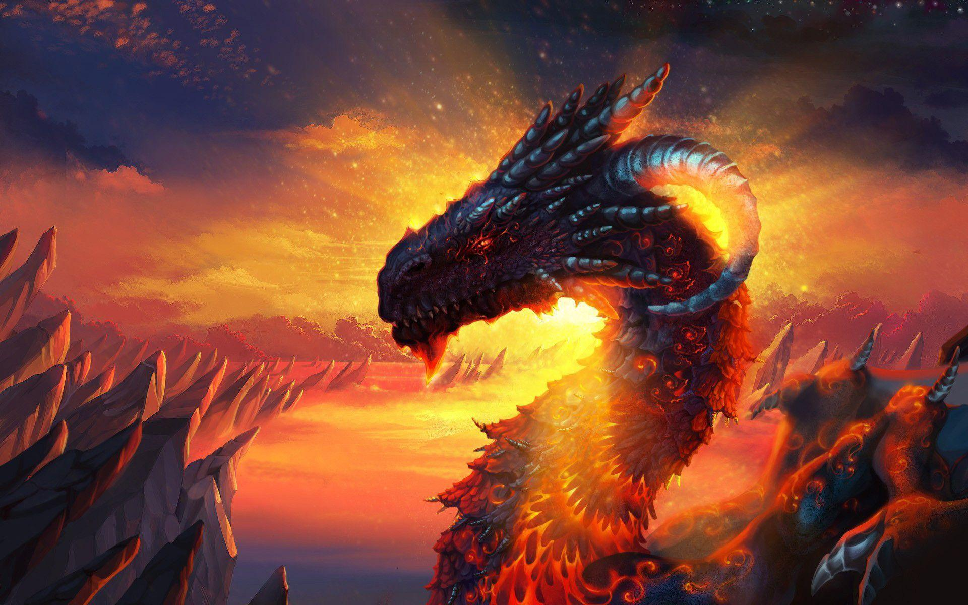 red dragons wallpaper - photo #20