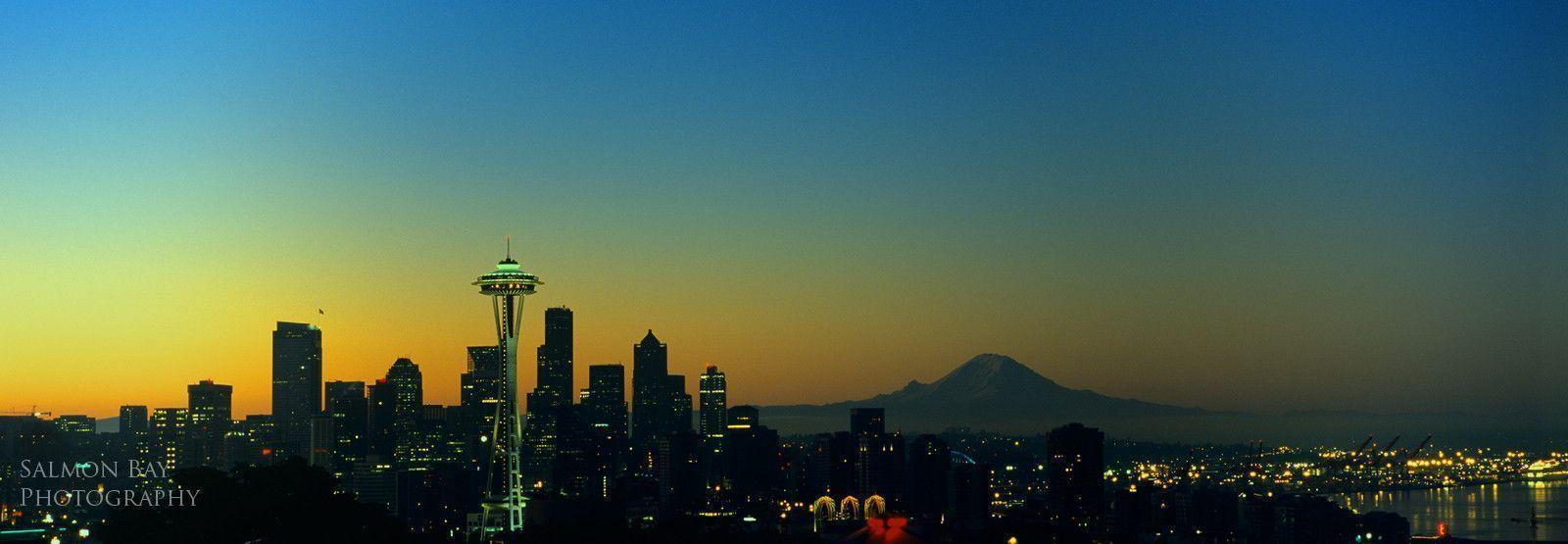 seattle skyline wallpapers wallpaper cave