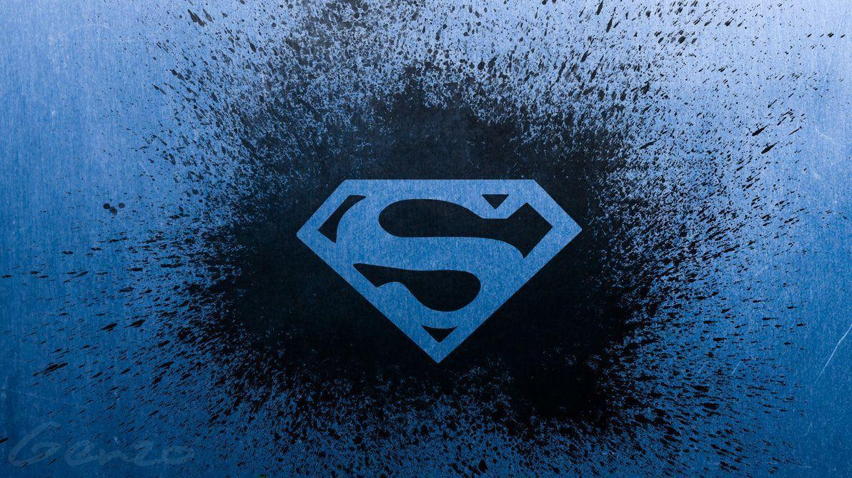 Superman logo wide wallpapers 2 by genzouniverse