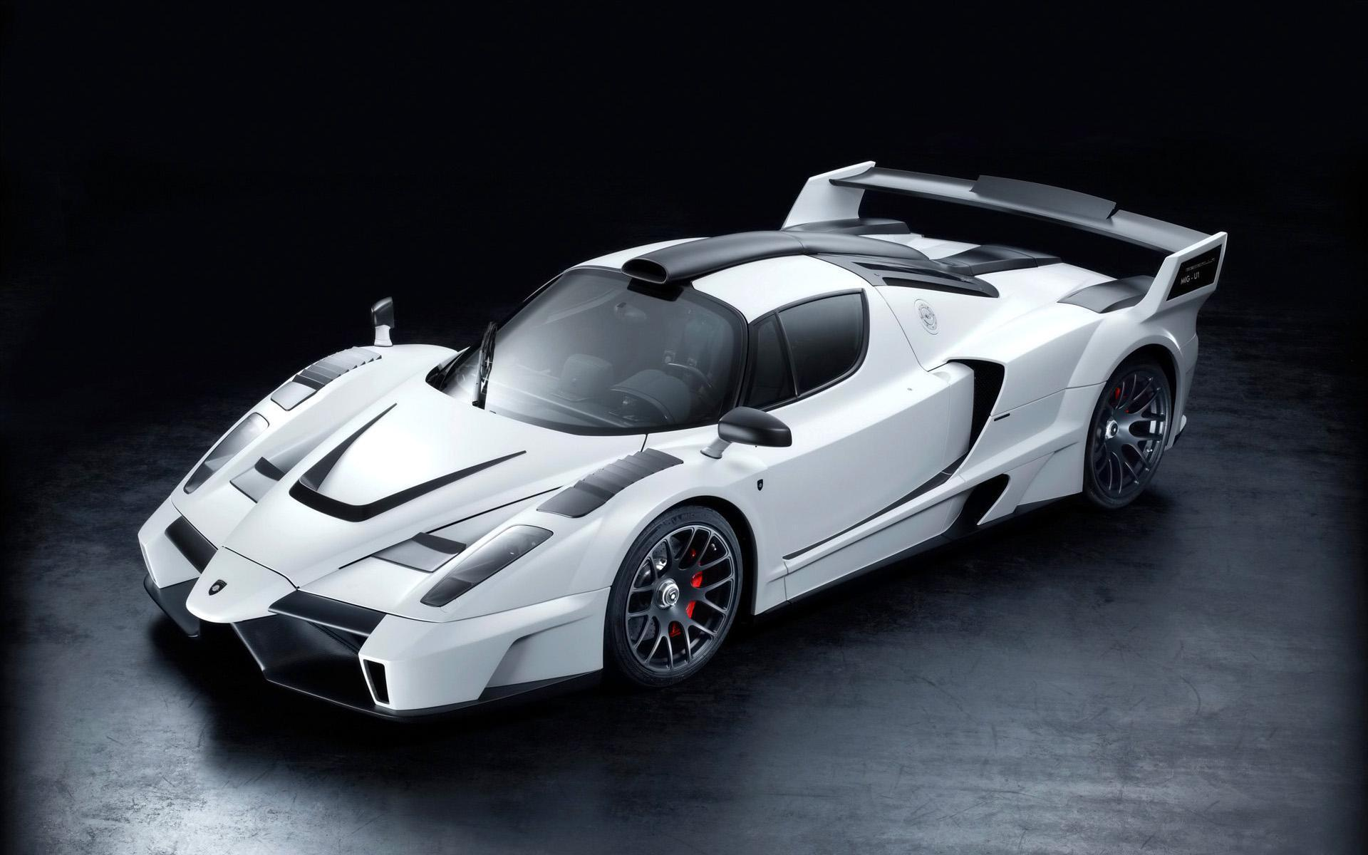 2015 White Ferrari Enzo Gemballa HD Wallpaper - Cool Wallpapers .