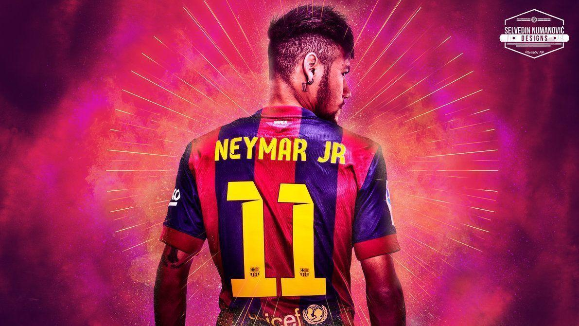 Neymar Jr. HD wallpapers 2015 by SelvedinFCB
