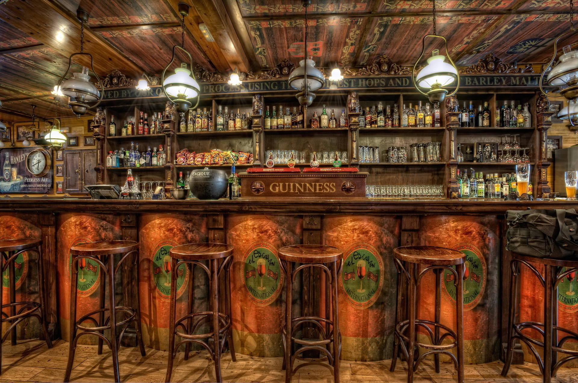 Pub wallpapers wallpaper cave for Wooden bar design