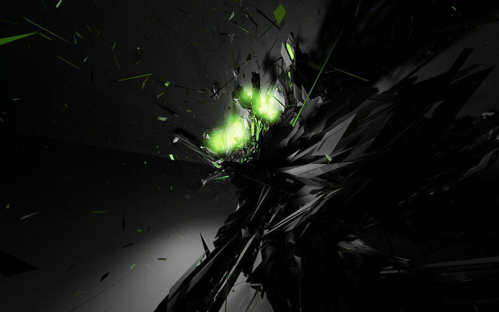 green neon background - photo #42
