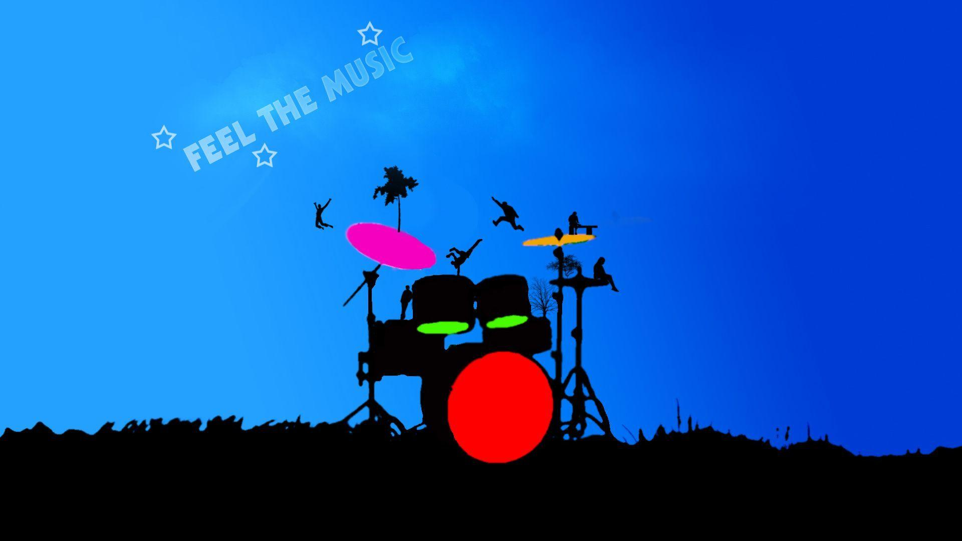 Image For > Drums On Fire Wallpapers
