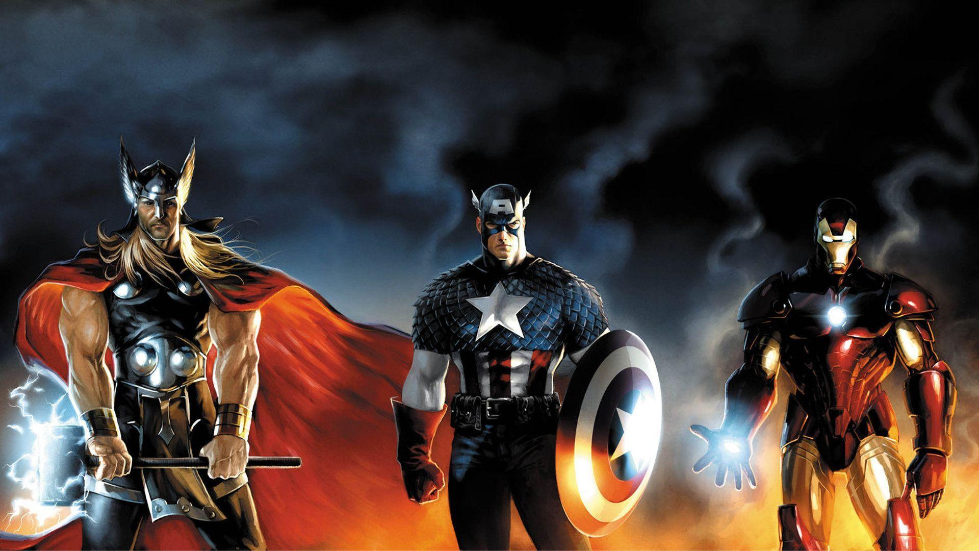 Marvel hero wallpapers wallpaper cave marvel heroes wallpaper 1920x1080 832 download game wallpapers voltagebd Image collections