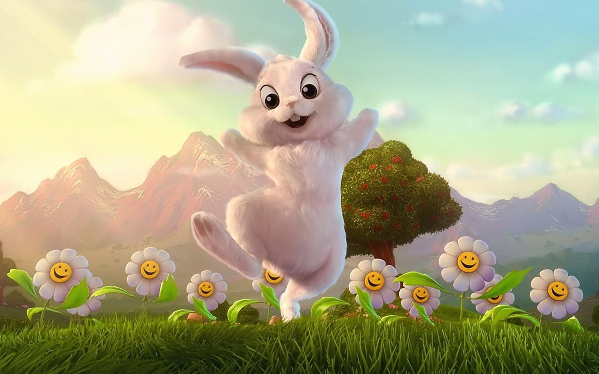 Easter Bunny Wallpapers Free Wallpaper Cave