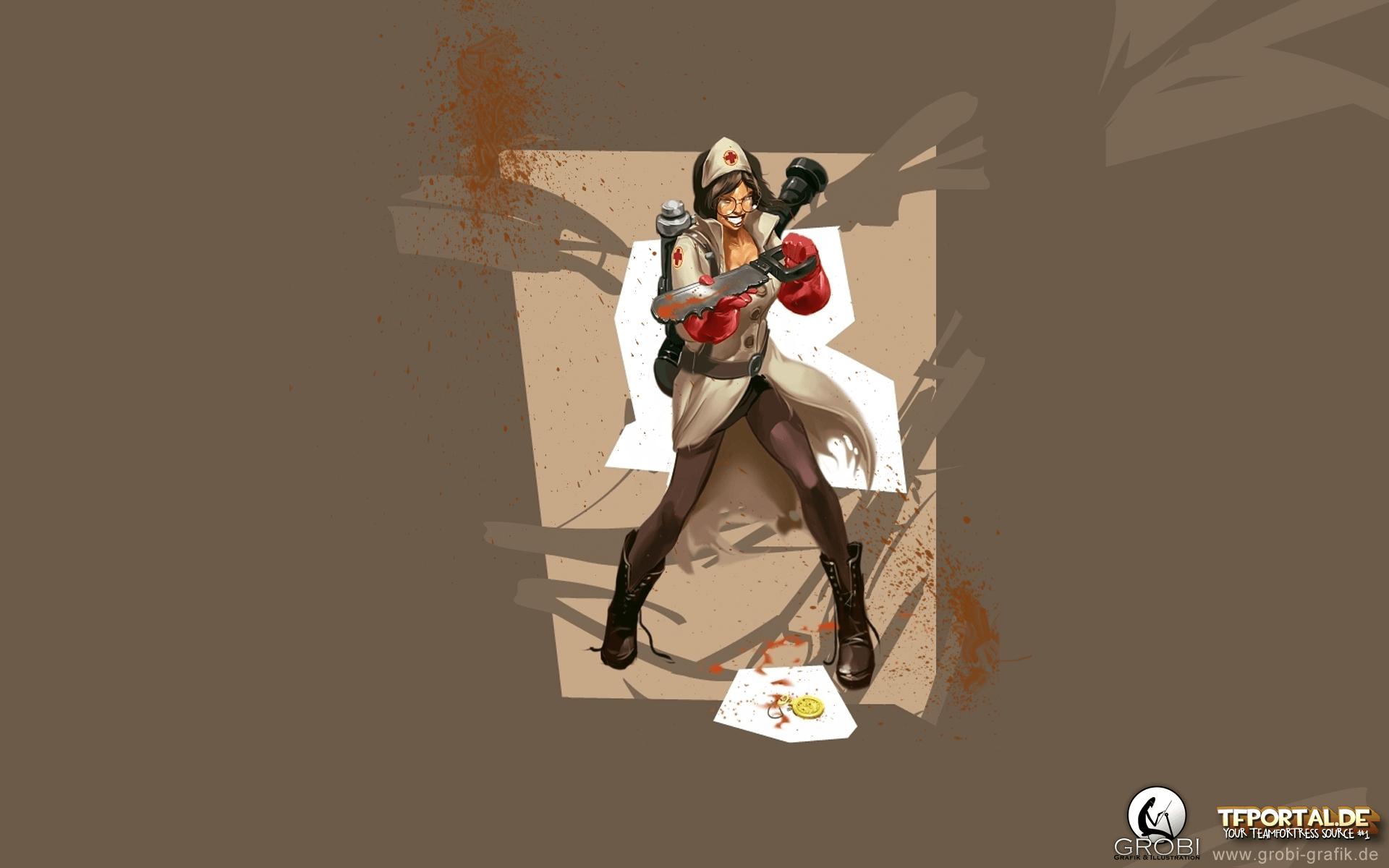 Team Fortress 2 Medic Wallpapers Wallpaper Cave
