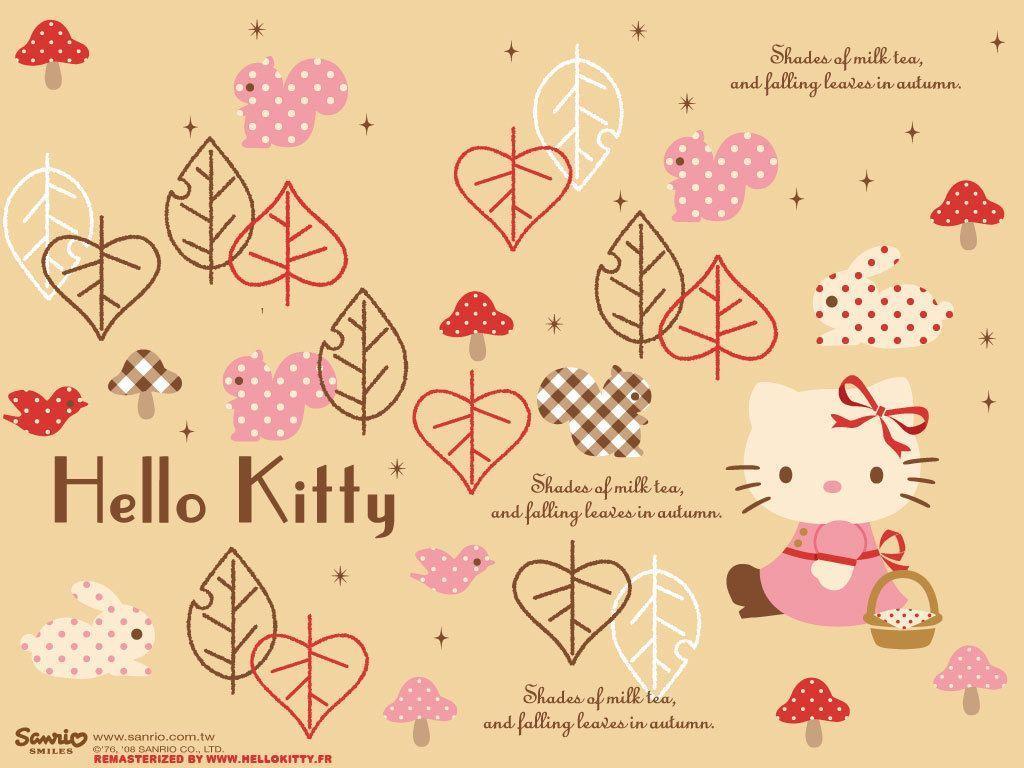 hello kitty fall wallpaper - photo #2