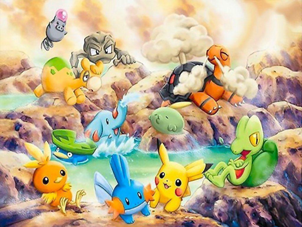 Pokemon Desktop Wallpapers Wallpaper Cave
