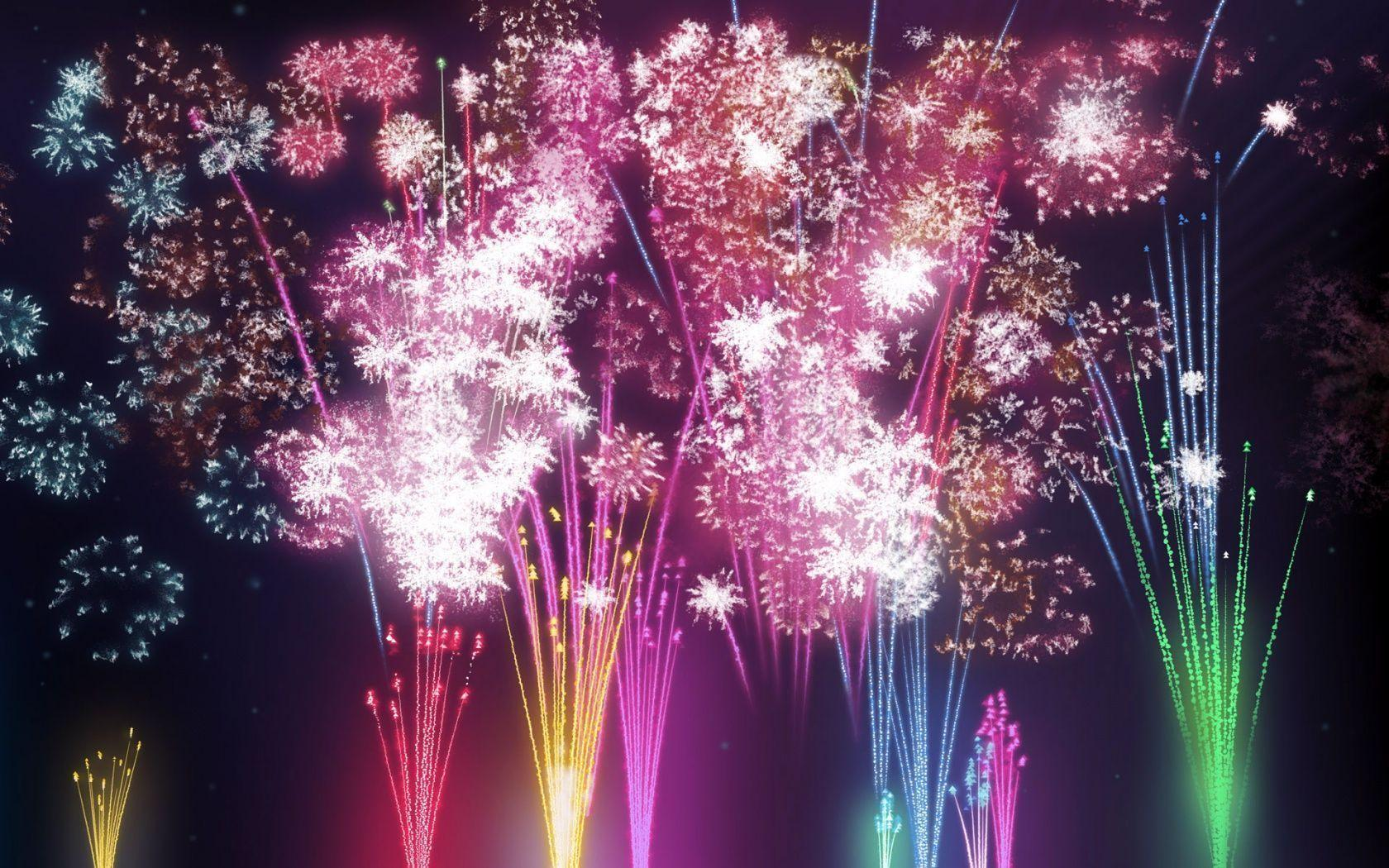 Happy New Year 2015 Animated HD Fireworks Wallpapers | Greetings