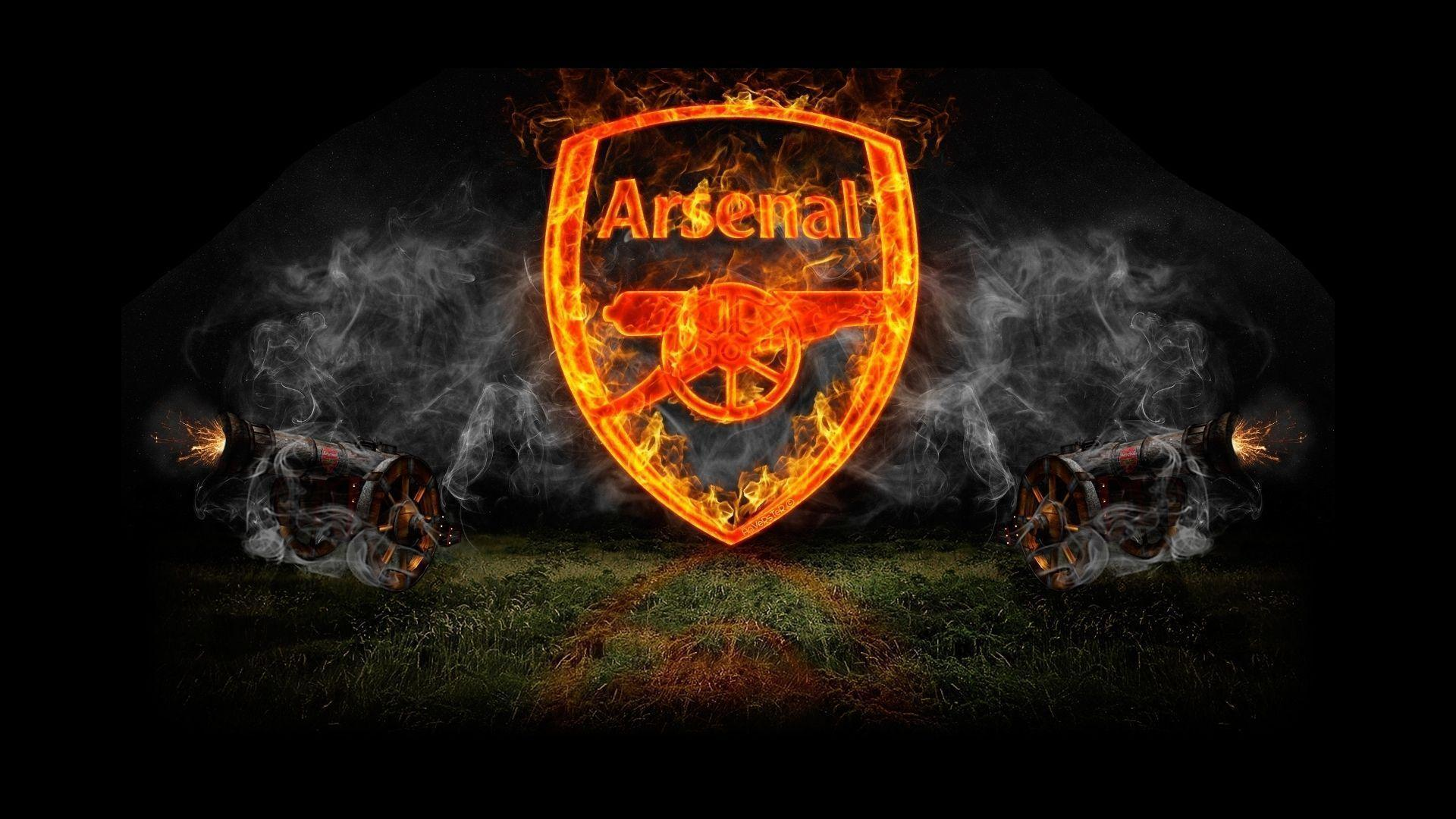 Arsenal FC Logo HD Wallpapers Wallpapers