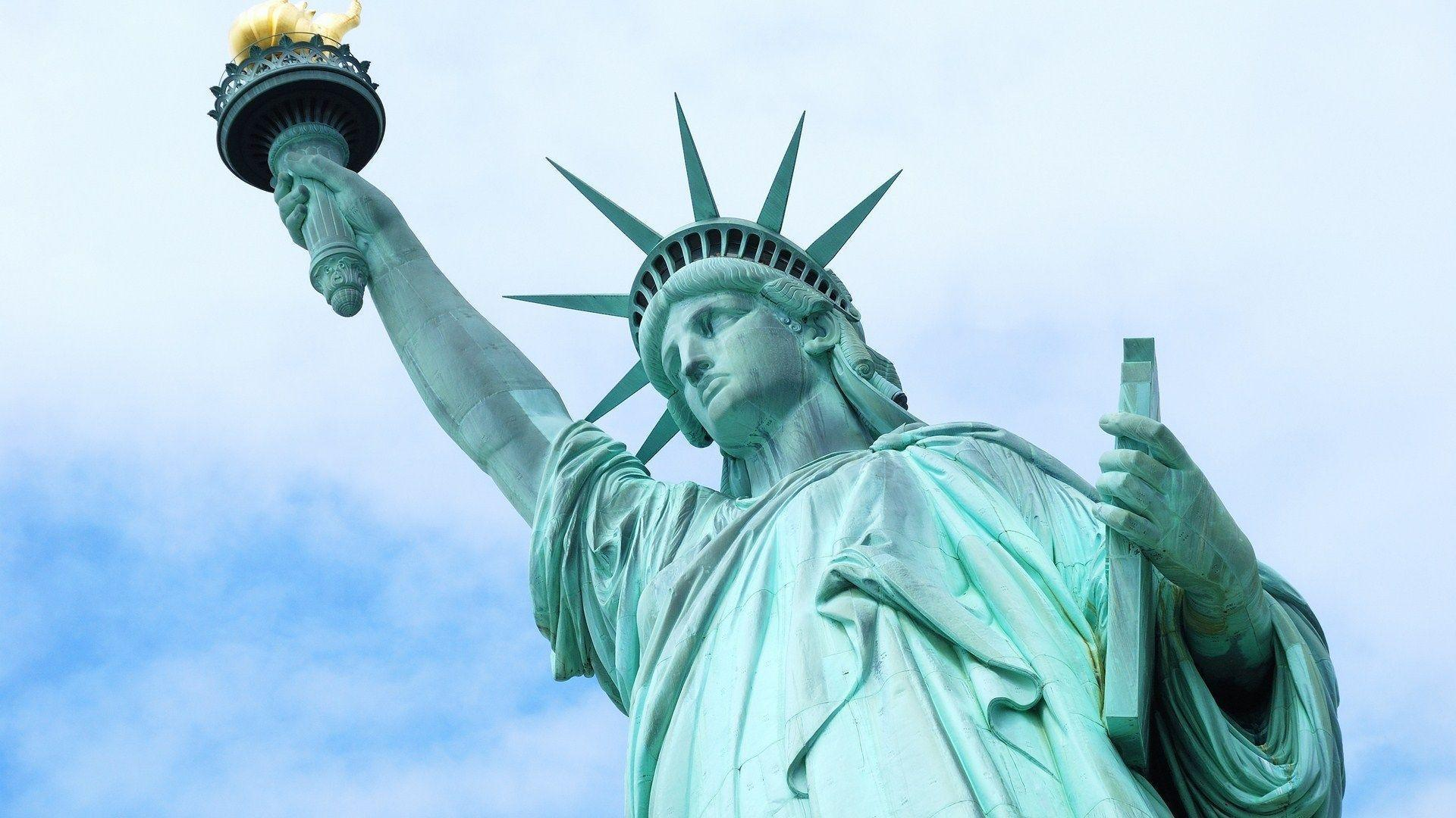 statue of liberty national monument wide hd wallpapers
