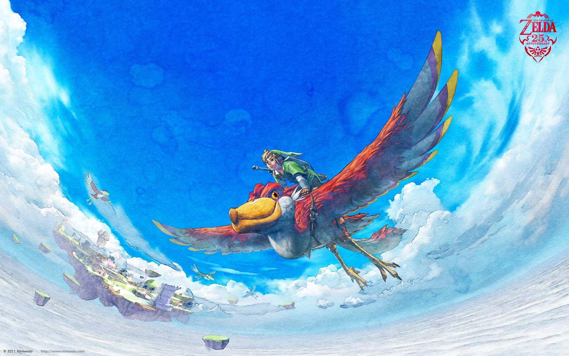 Legend Of Zelda Skyward Sword Wallpapers Wallpaper Cave