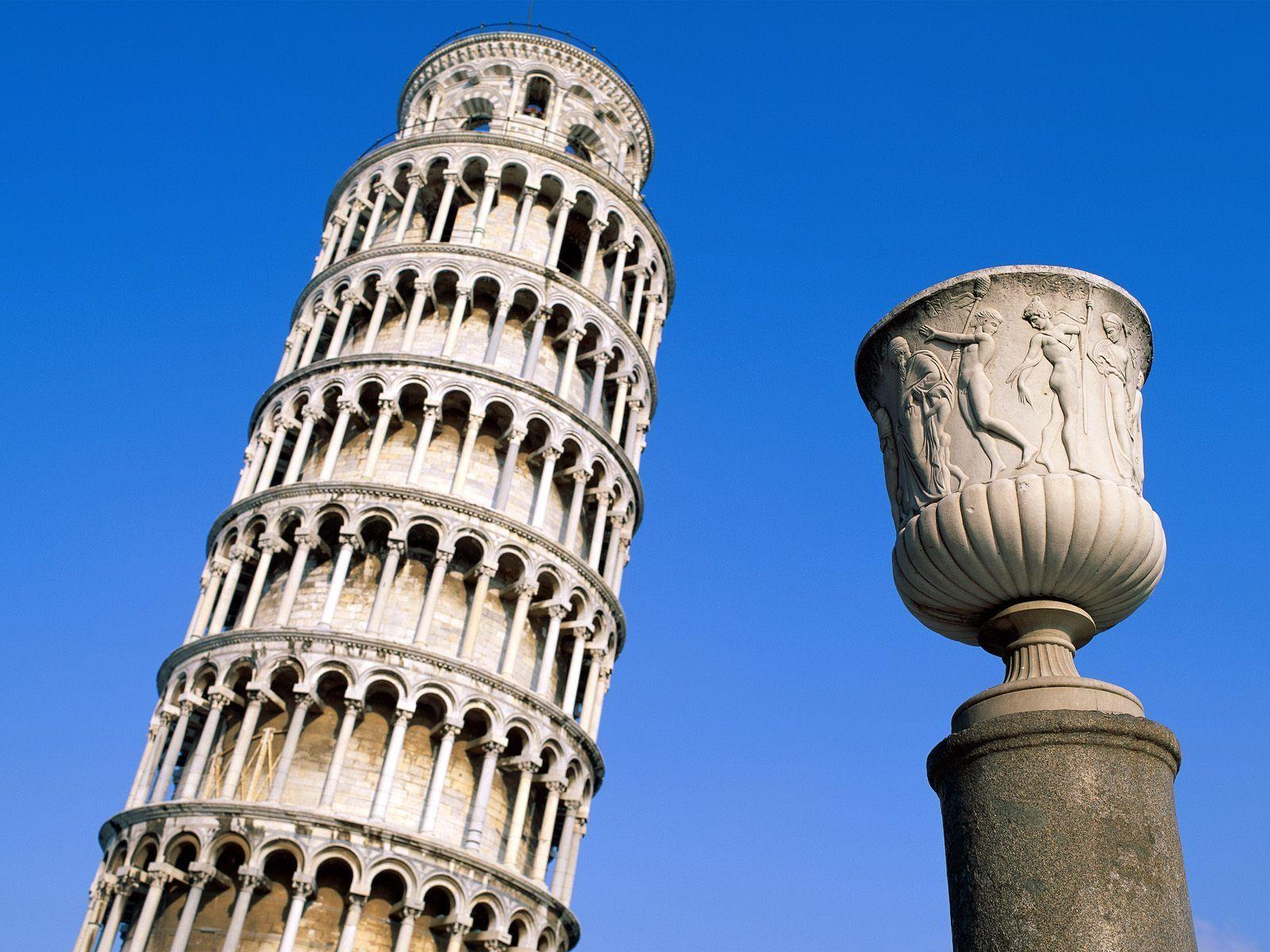 Leaning Tower Pisa Italy Wallpaper - Wide Wallpapers