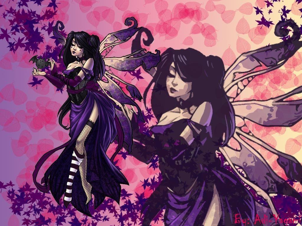 Dark Gothic Fairy Wallpaper