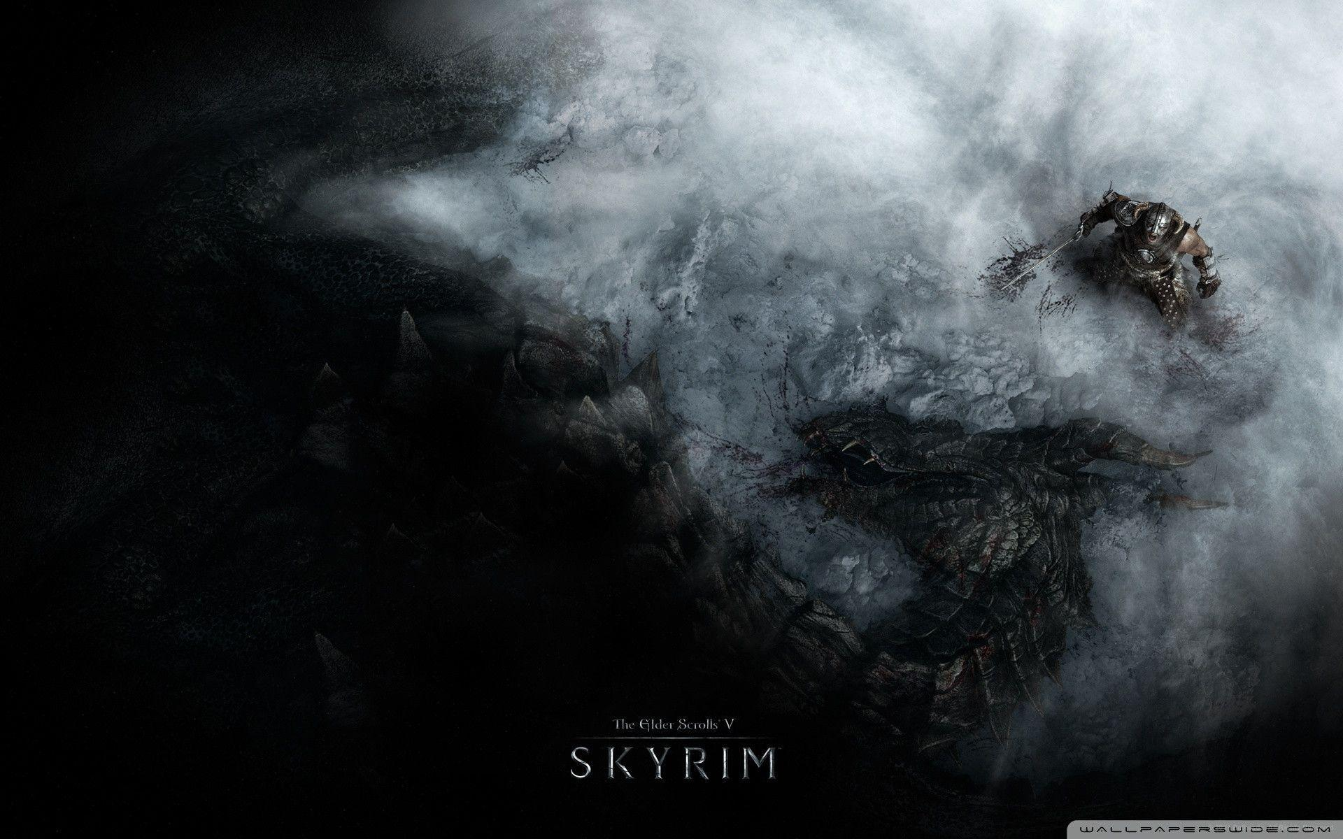 skyrim hd wallpapers 1366x768 - photo #12
