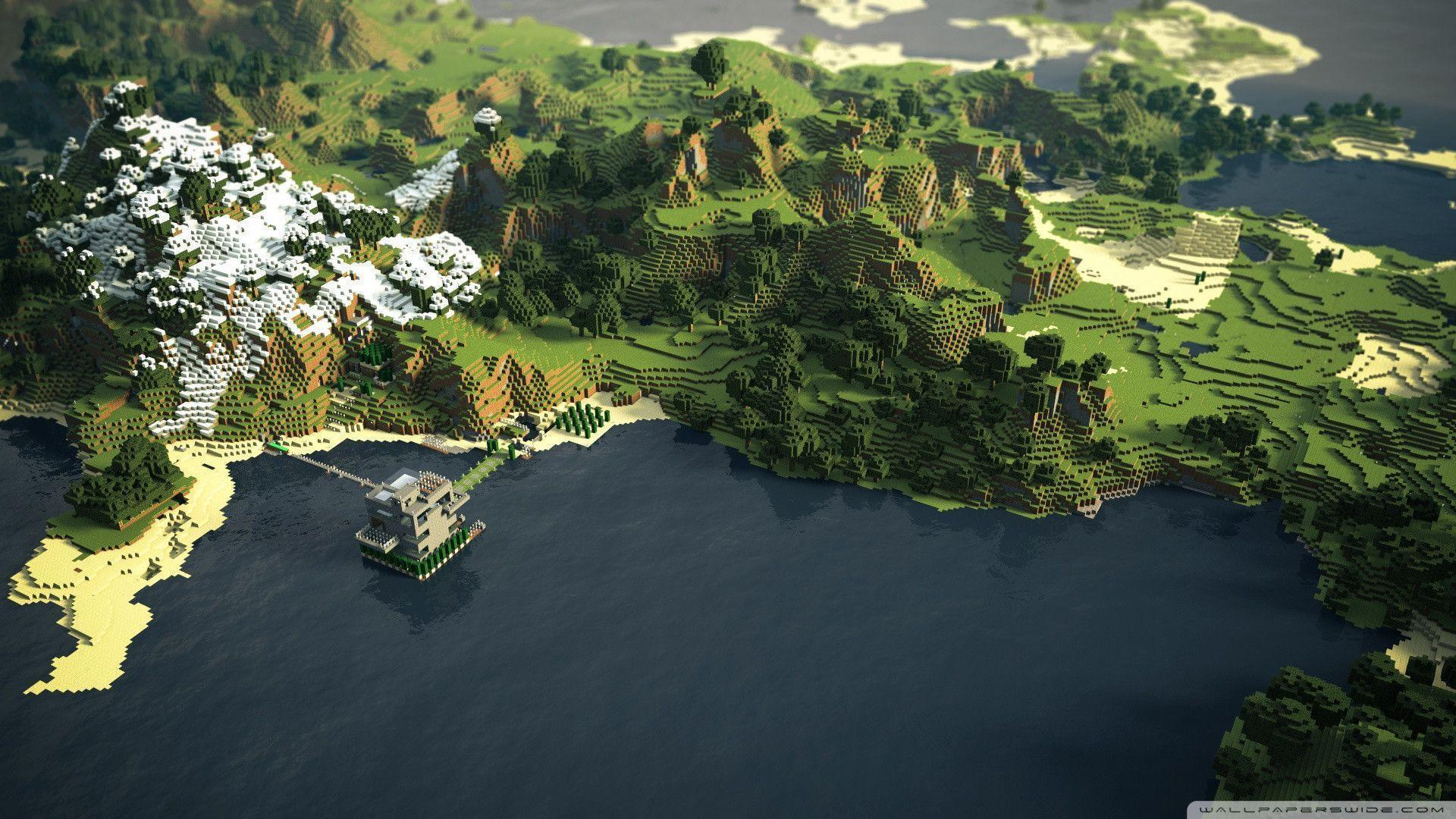 Minecraft Wallpaper 1920X1080 wallpaper - 720326
