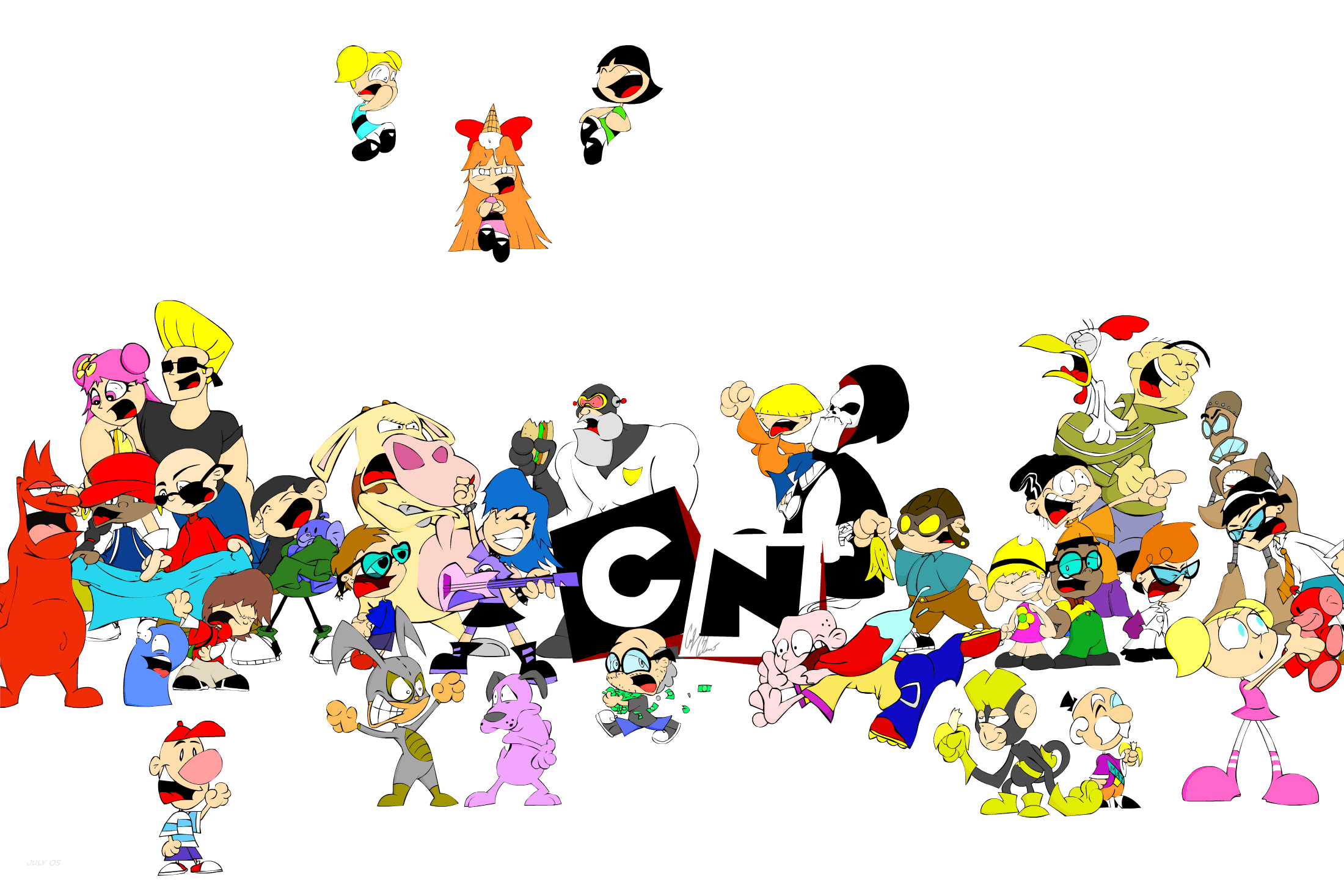 Old Cartoon Network Characters Www Pixshark Com Images Galleries