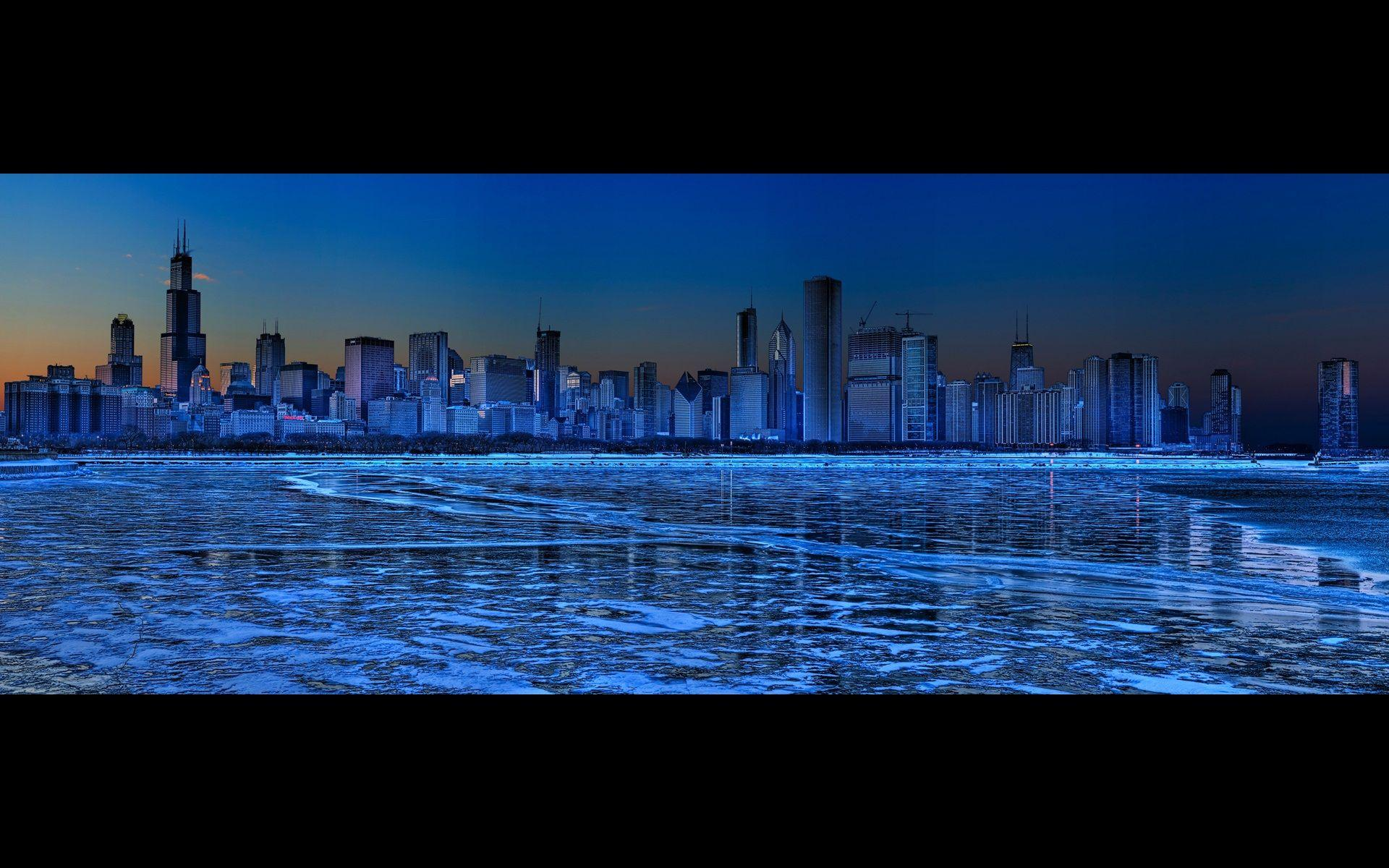 chicago at night panorama 4710 good