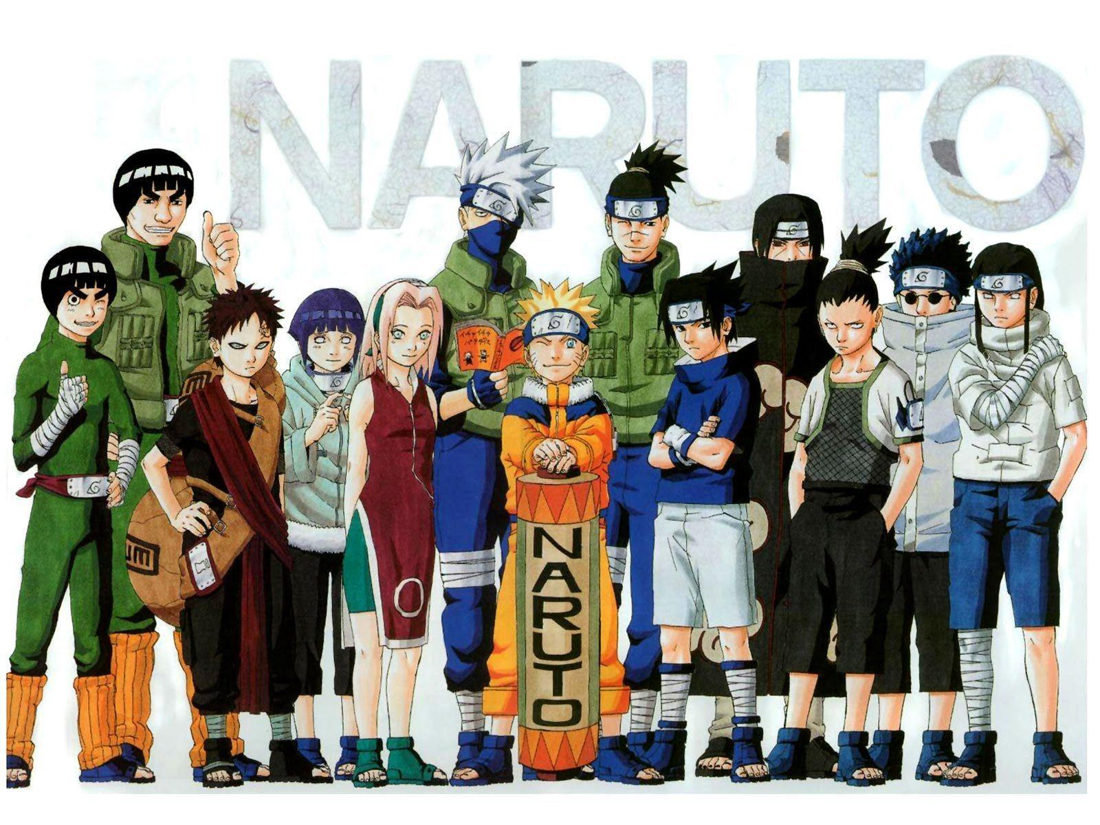 wallpapers naruto and friends