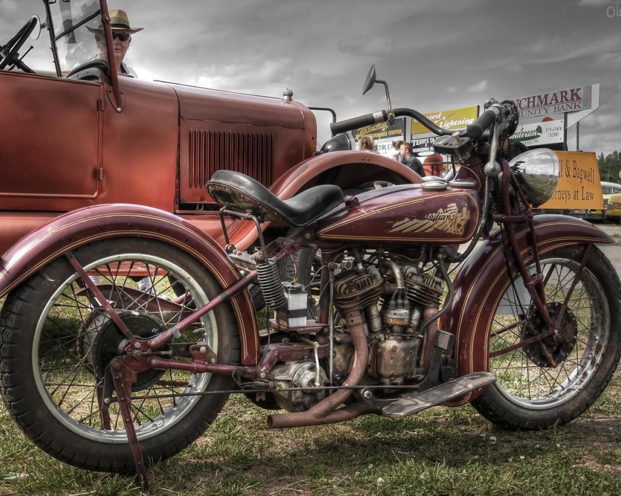 vintage chopper wallpaper - photo #3