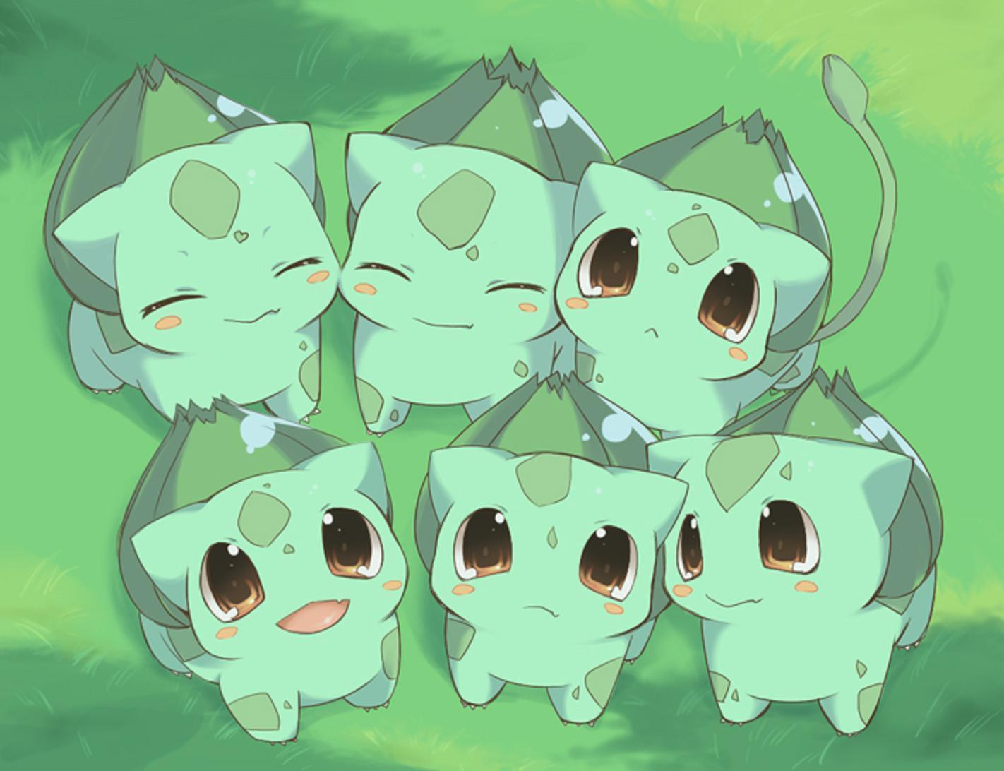 cute pokemon bulbasaur - photo #2
