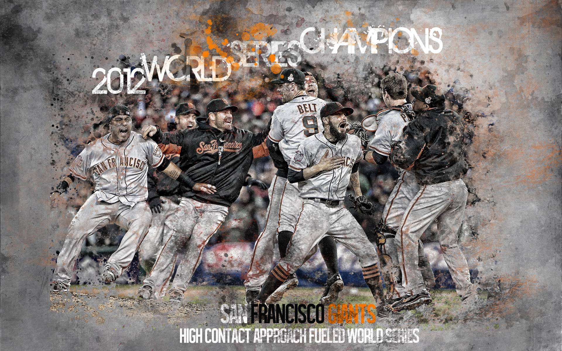 SanFrancisco Giants 2012WorldSeriesChampions By 31ANDONLY On