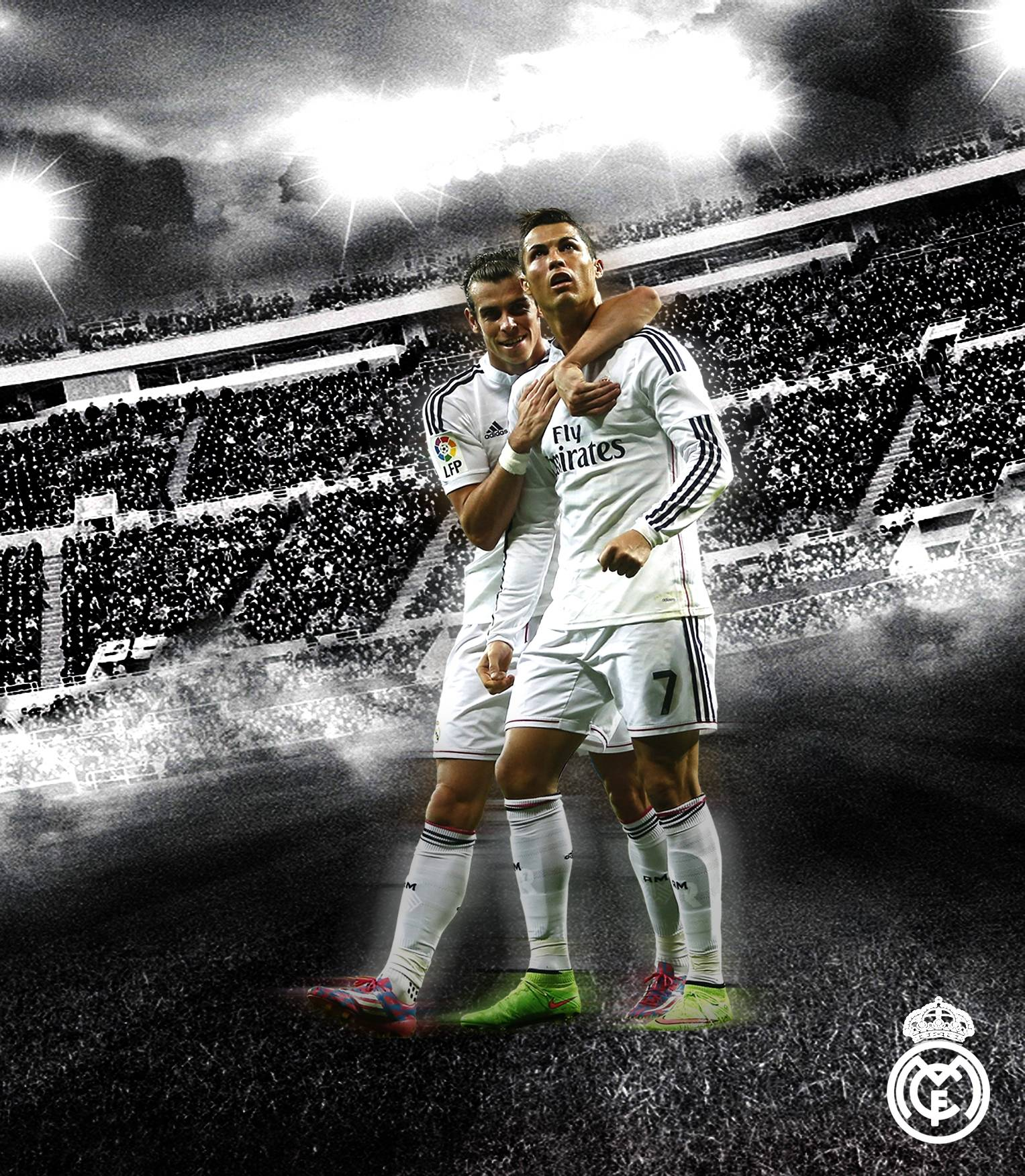 cr7 and bale hd wallpapers 2015 wallpaper cave