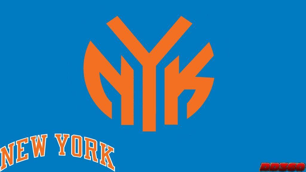 NBA Ligature: New York Knicks by DevilDog360