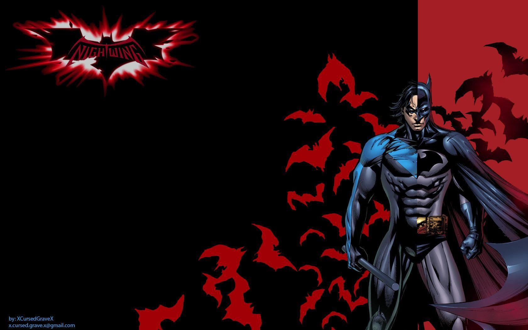 Nightwing Wallpapers - Wallpaper Cave
