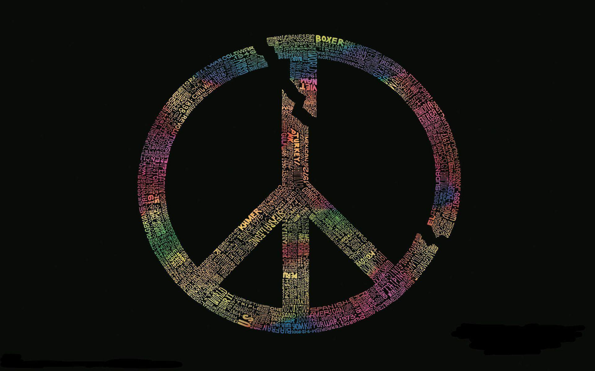 peace sign wallpapers wallpaper cave