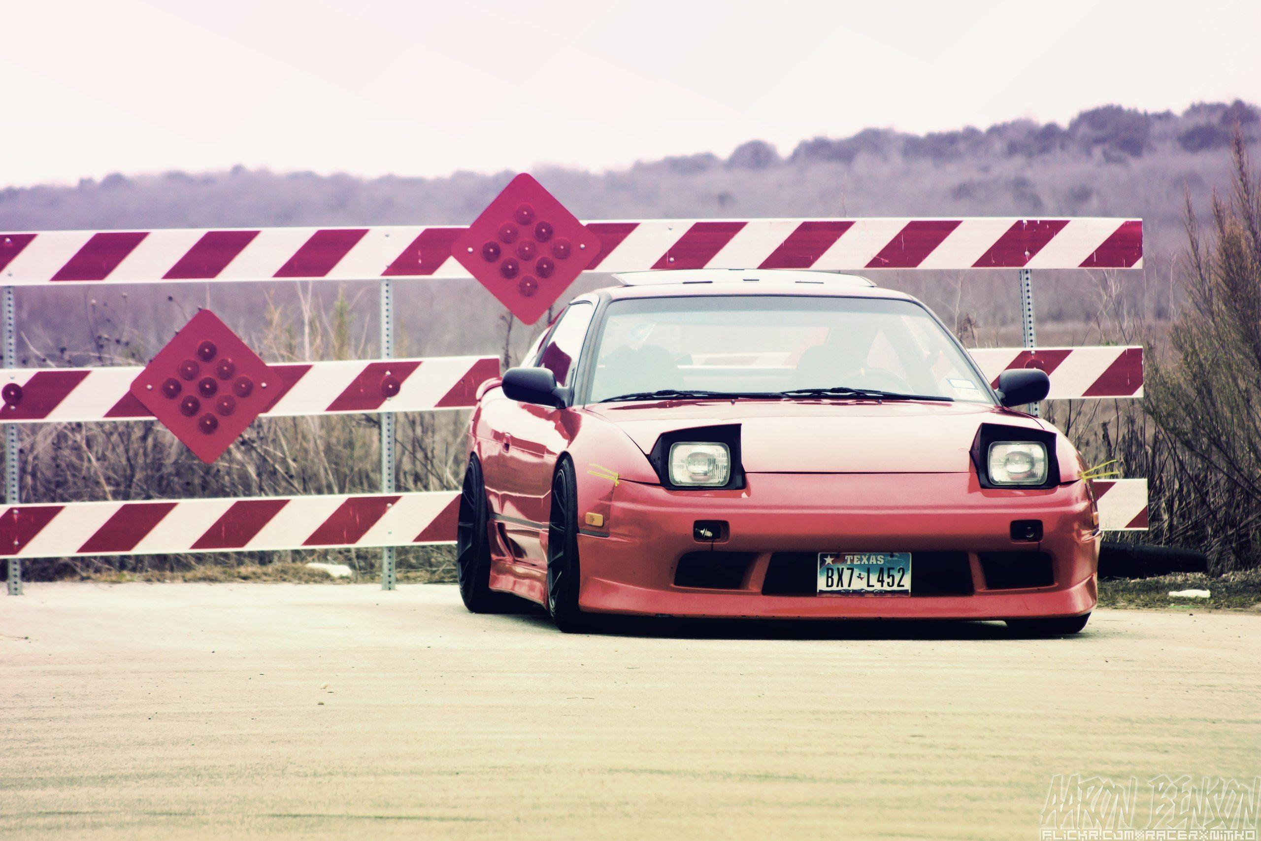 Wallpapers nissan, 240sx, low red - car pictures and photos nissan ...