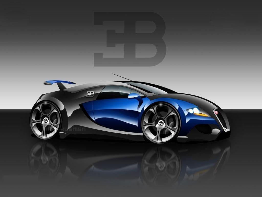cars wallpapers bugatti 3d concept wallpaper free hd desktop - Cool Cars Wallpapers 3d