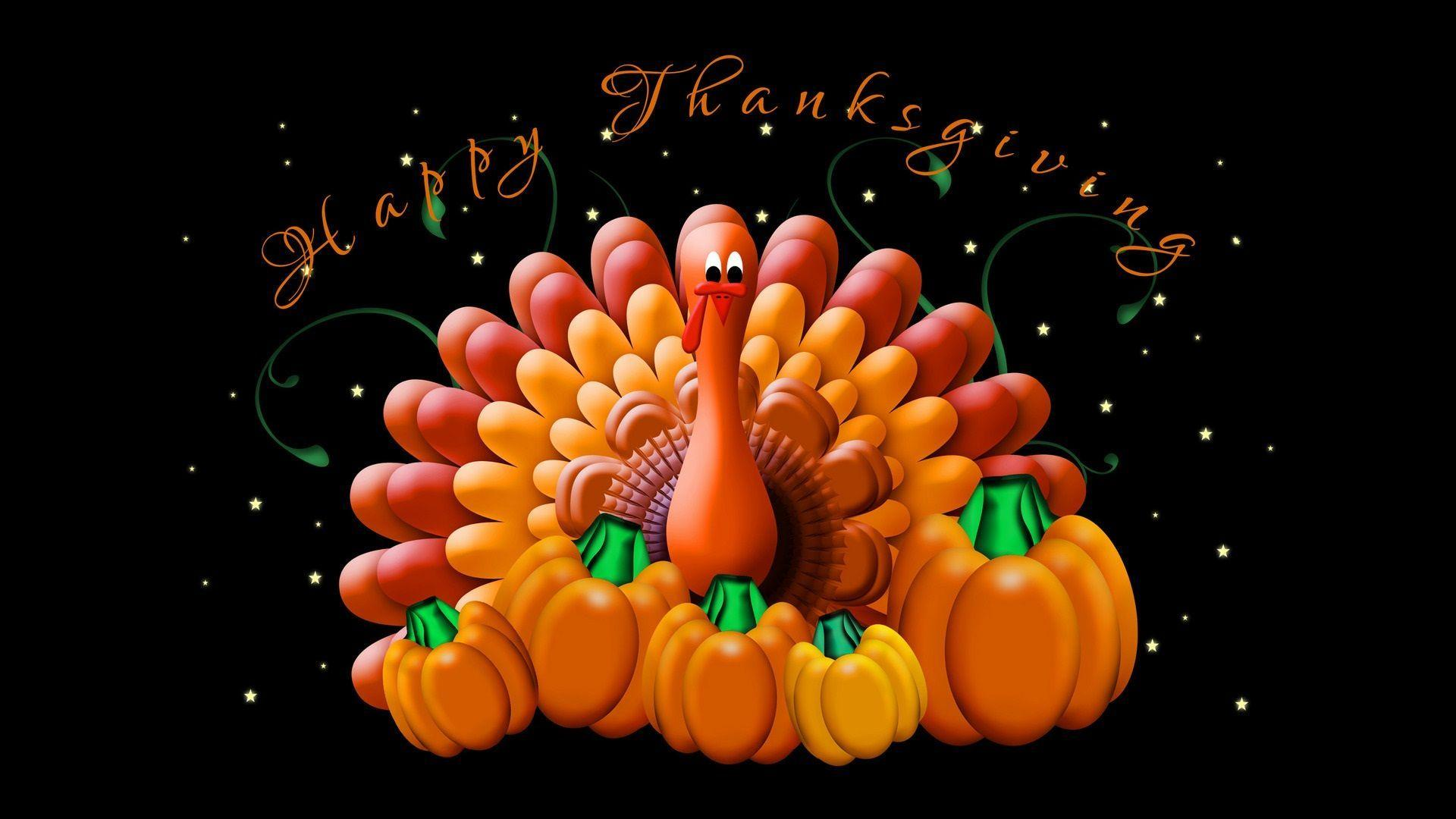 3D Thanksgiving Wallpapers  Wallpaper Cave