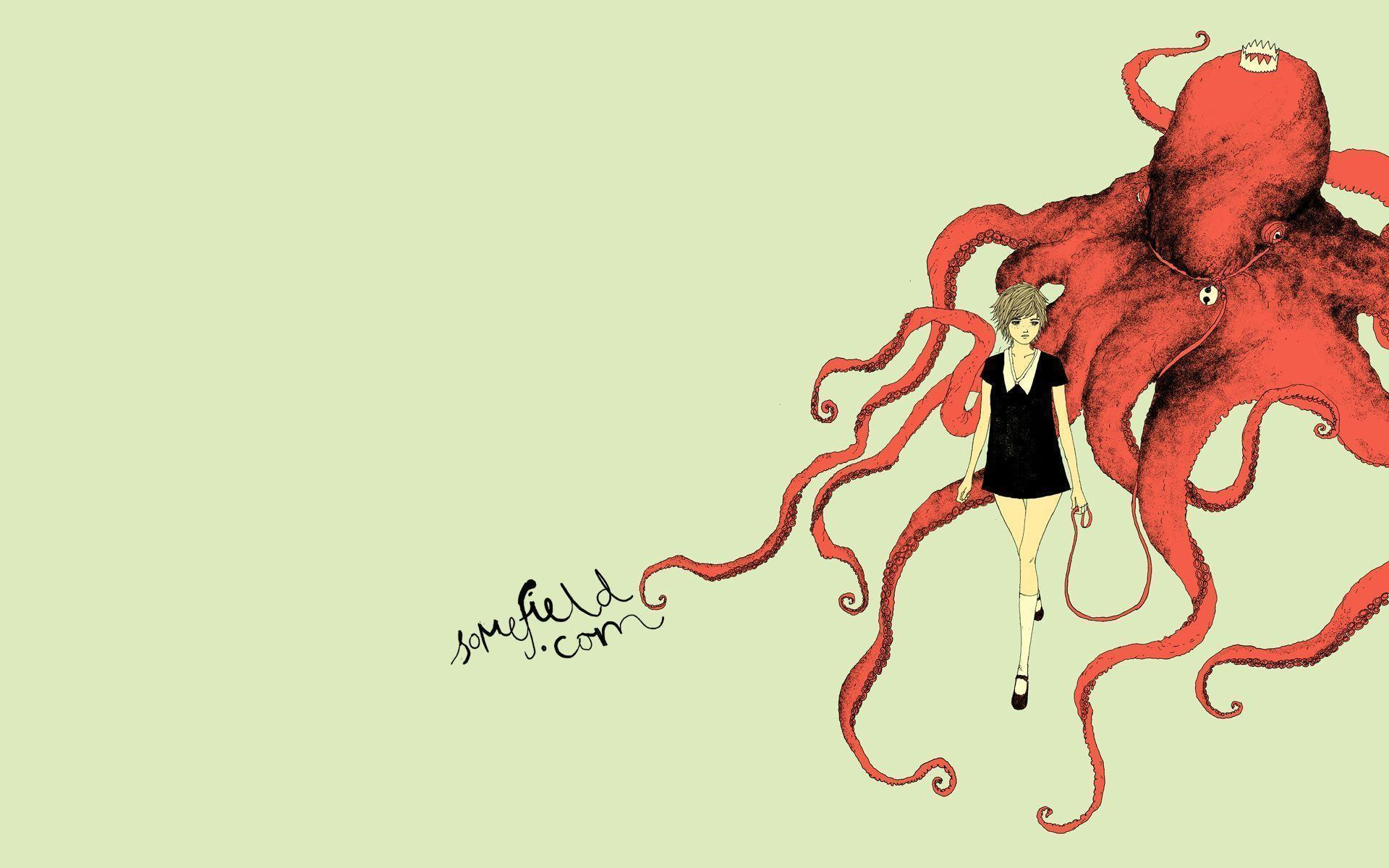 real octopus wallpaper - photo #7